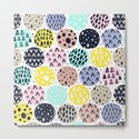 LOUD ABSTRACT POLKA DOT PATTERN by patternfactory