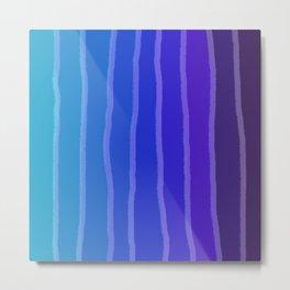 Vertical Color Tones #3 Metal Print