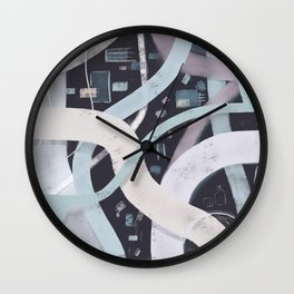 Little City Night | Inviting Wall Clock