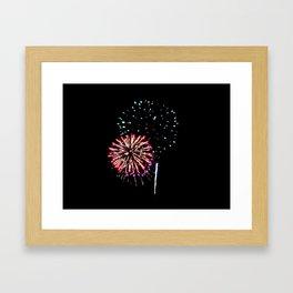Fireworks 17 Framed Art Print