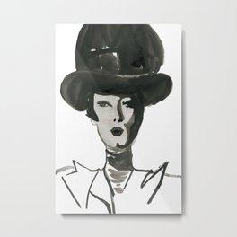 Woman XY 102 Metal Print