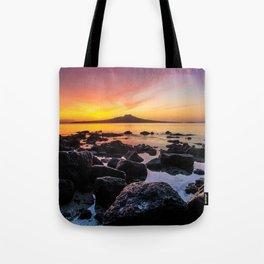 Rangitoto Island New Zealeand Tote Bag