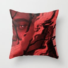Byronic V Throw Pillow