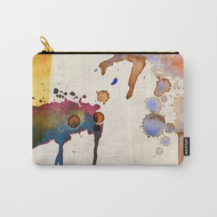 Multicolor Splash Carry-All Pouch