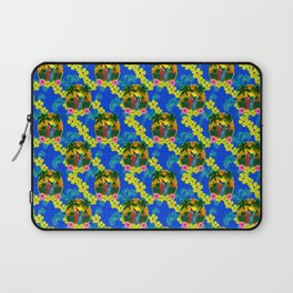 Sunset And Surf Pattern Laptop Sleeve