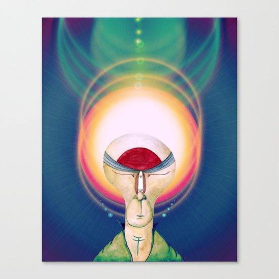 The Cosmic Glow Canvas Print