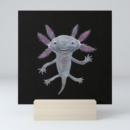 Axolotl Mini Art Print