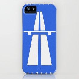 Kraftwerk Autobanh iPhone Case