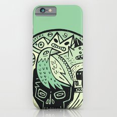 Bubble head - green iPhone 6s Slim Case
