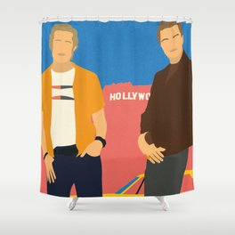 Cliff And Rick Shower Curtain