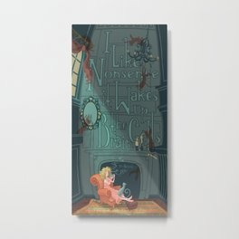 Nonsense Wakes up the Brain Cells Metal Print