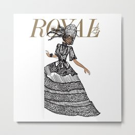 Ruby Royal Metal Print