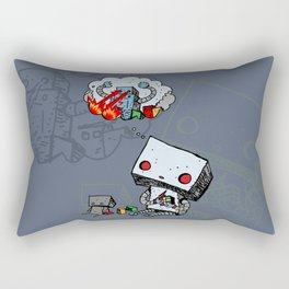 A Dream About the Future Rectangular Pillow