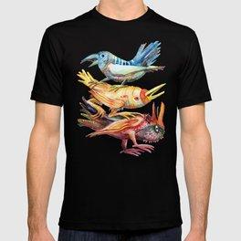Three Birds Stacked T-shirt