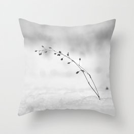 Snow dancers .... Throw Pillow
