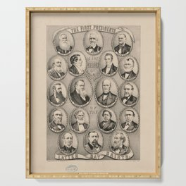 The First Presidents of the Mormon Church (1879) Serving Tray