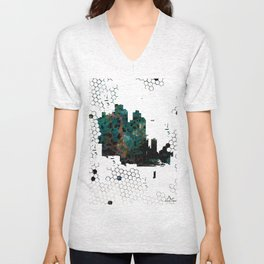 About Buildings and Hives Unisex V-Neck