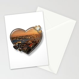 I Love Istanbul Stationery Cards