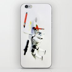 Drawing Droids iPhone & iPod Skin
