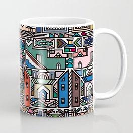 Ndebele Village Coffee Mug