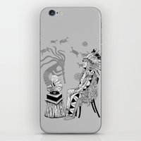 spiritual iPhone & iPod Skins featuring Spiritual Beginning by Astrablink7