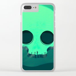DSP002 - Skull Clear iPhone Case