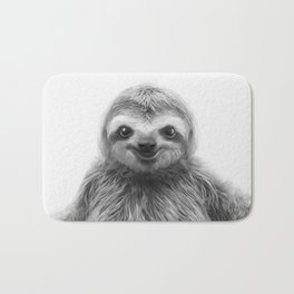 Young Sloth Bath Mat