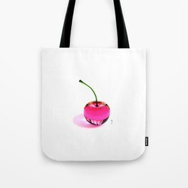 Pink Cherry - By THE-LEMON-WATCH Tote Bag