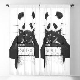 Bad panda Blackout Curtain