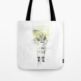 Messager de l'espace Tote Bag