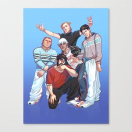 Kirkwall Boys Canvas Print