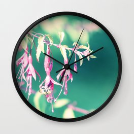 Lightful Autumn Flower of Love & Light Wall Clock