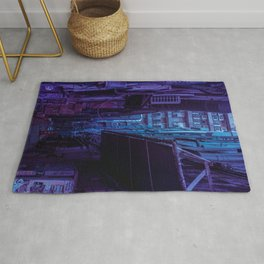 Tokyo Nights / Shadow of The Day / Liam Wong Rug