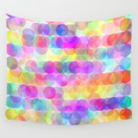 bubbles Wall Tapestries featuring Bubbles by Ornaart