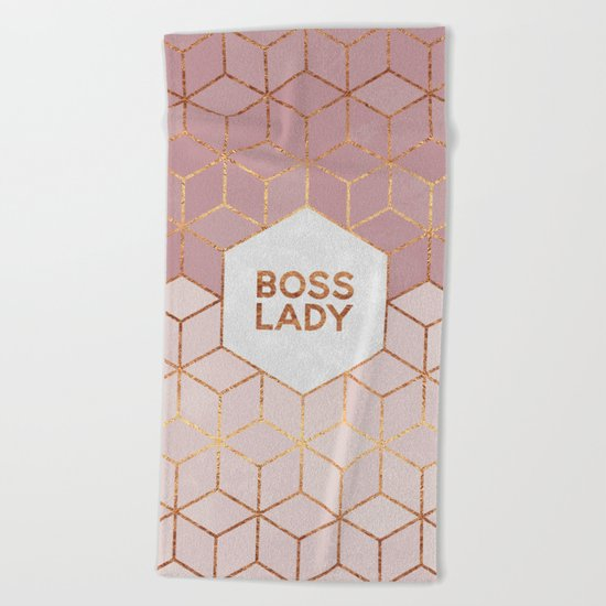 Boss Lady / 2 Beach Towel