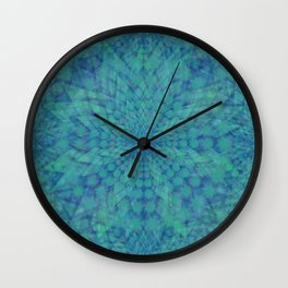 Lotus of Divinity Wall Clock