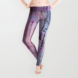 Abalone Mermaid Shell Leggings