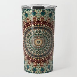 Earth Mandala 2 Travel Mug