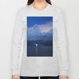 Lightning on the Myakka DPG160601b Long Sleeve T-shirt