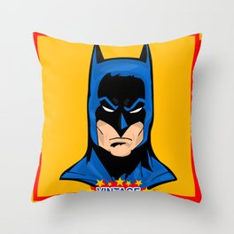 Super Powers Vintage 2 Throw Pillow