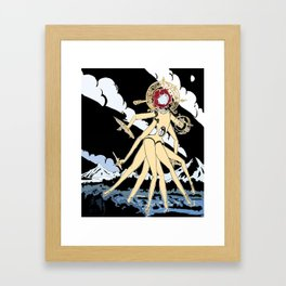 Eldritch Princesses: Belle Framed Art Print