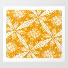 Butterscotch On A Sunny Day Art Print