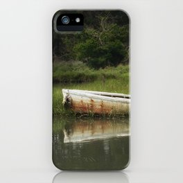 The lost boat iPhone Case