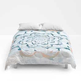 Dance of the dolphins Comforters