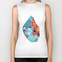 peace Biker Tanks featuring inner peace by contemporary