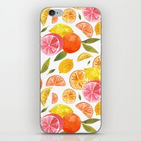 oana befort iPhone & iPod Skins featuring CITRUS by Oana Befort