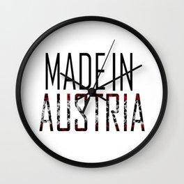 Made In Austria Wall Clock