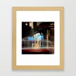The Bell Jar Butterfly Framed Art Print