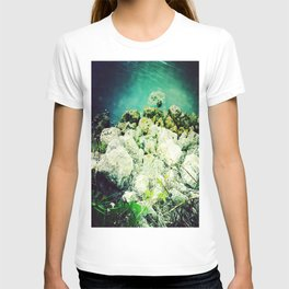 blue lagoon T-shirt
