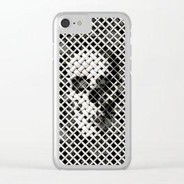 Wicker Skull Clear iPhone Case
